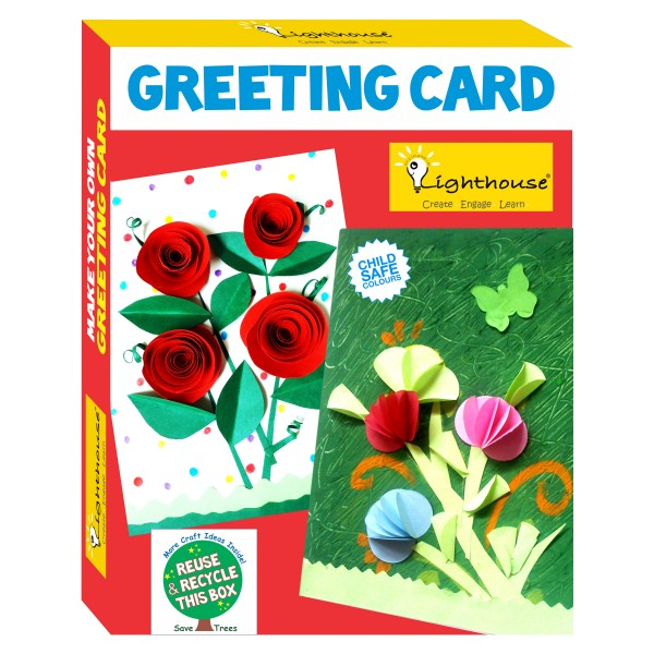 Make your own greeting card art and craft toys by lighthouse homemake your own greeting card m4hsunfo